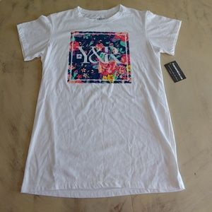Young and Restless Mens Floral Graphic Tee